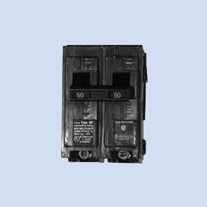 Image of Q250 Milbank 50 amp breaker, RV breaker