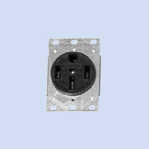 Image of Z708767-MO Milbank 50 amp receptacle for RV pedestal
