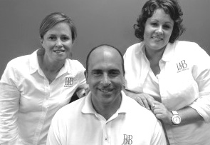 B&B Electrical: Members of the B&B Electrical management team are (from left) Terry Linnell; Matt Linnell; and Jen McBurney.
