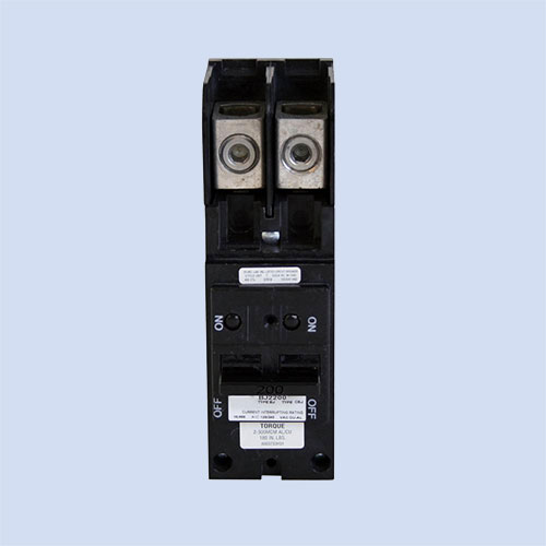 Image of BJ2200 Eaton 200 amp breaker mobile home pedestal