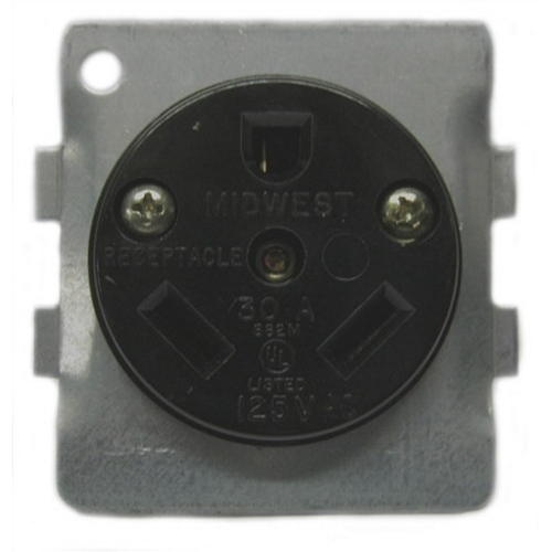 Image of BR32U Midwest 30 amp receptacle