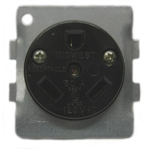 Image of BR32U Midwest 30 amp receptacle