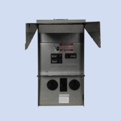 Image of CHU4N7N4NS Eaton 50/30/20 unmetered RV surface box
