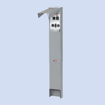 Image of CHU1N7N4PTZ Eaton RV power panel 50 30 amp receptacles