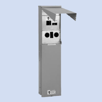 Image of Eaton RV pedestal CHU4N7NPTZ 50 amp service