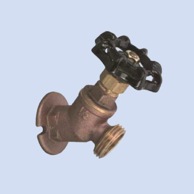 Image of hose bib for RV hookup