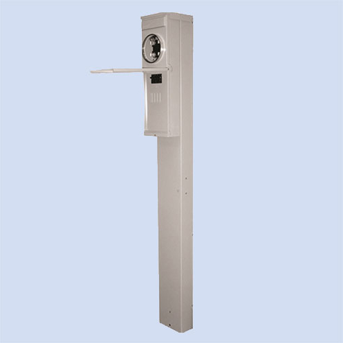 Image of M281C1P6H Midwest mobile home pedestal, 200 amp
