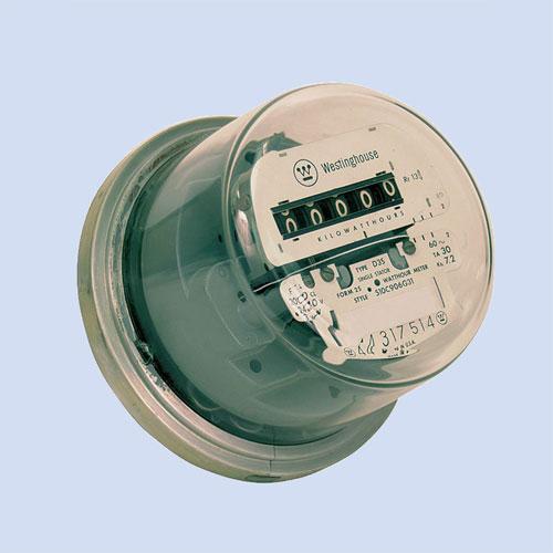 Image of RV electric meter, refurbished RV watt hour meter