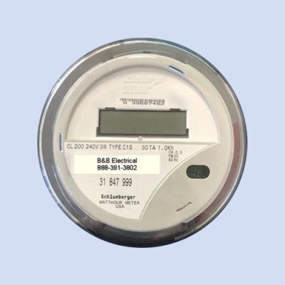Image of RV electric meter, refurbished watt hour meter