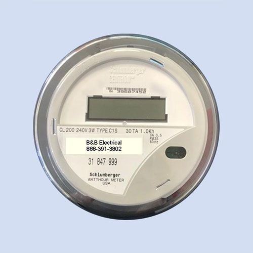 Image of RV electric meter, refurbished watt hour meter