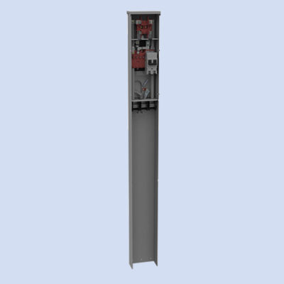 Image of Milbank MPAP 200 amp mobile home pedestal