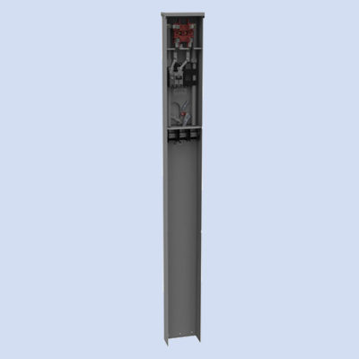 Image of Milbank MPRV 100 amp mobile home pedestal