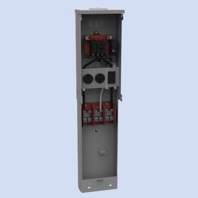 Image of U5210-XL-75 Milbank 50/30/20 RV pedestal pad mount