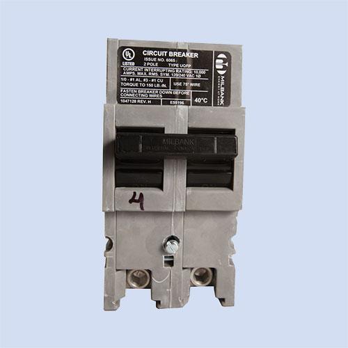 Image of UQFP-200 Milbank 200 amp breaker, mobile home pedestal