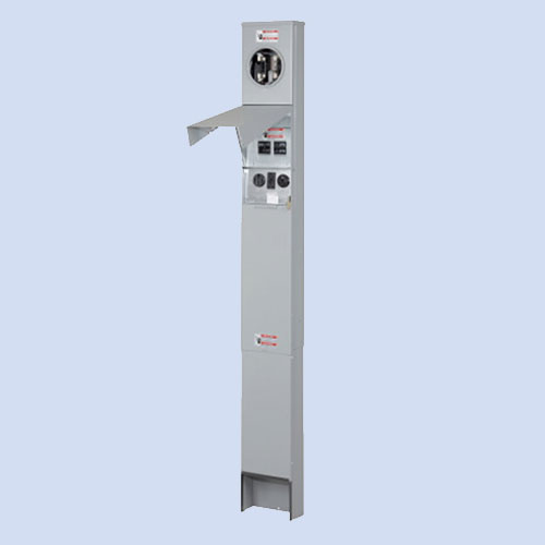 Image of 50 amp Eaton RV pedestal CHM1N7N4NPTZ