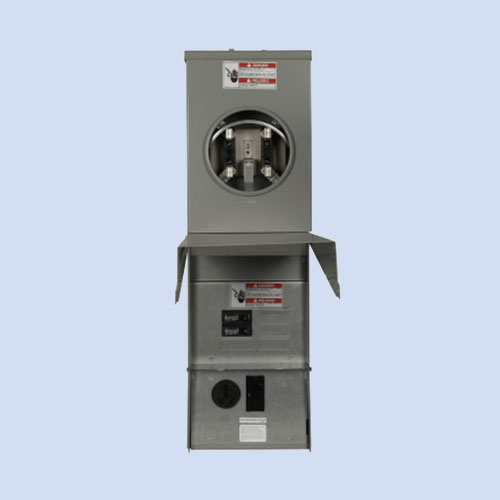 Image of CHM4N7NS Eaton RV surface box 30 amp receptacle
