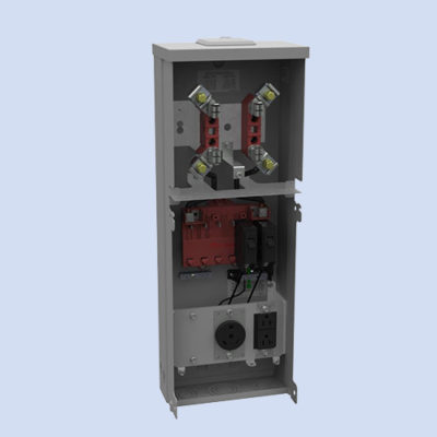Image of U5100-XL-41 Milbank RV box 30 amp receptacle