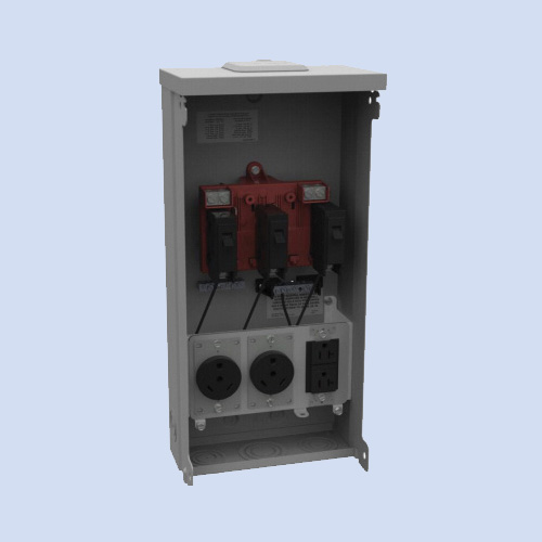 Image of U5000-XL-332 Milbank RV surface box 30/20 receptacles
