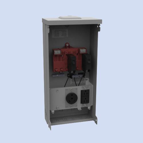 Image of U5000-XL-41 Milbank RV surface box 30 amp receptacle