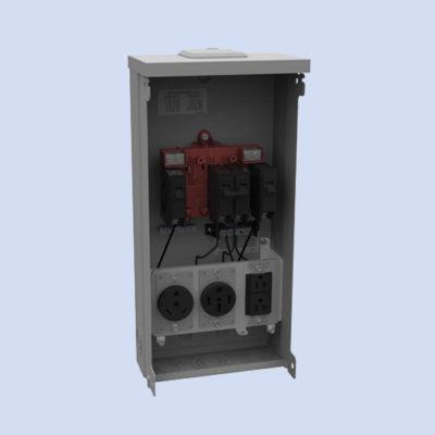 Image of Milbank U500-XL-75 RV surface box 50 amp