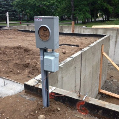 Image of PCM preconstruction meter mount DTE approved