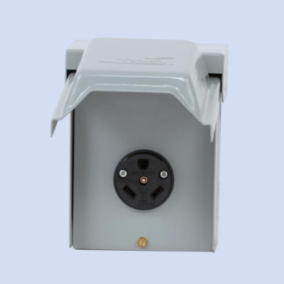 Image of U013 Midwest 30 amp receptacle RV hookup