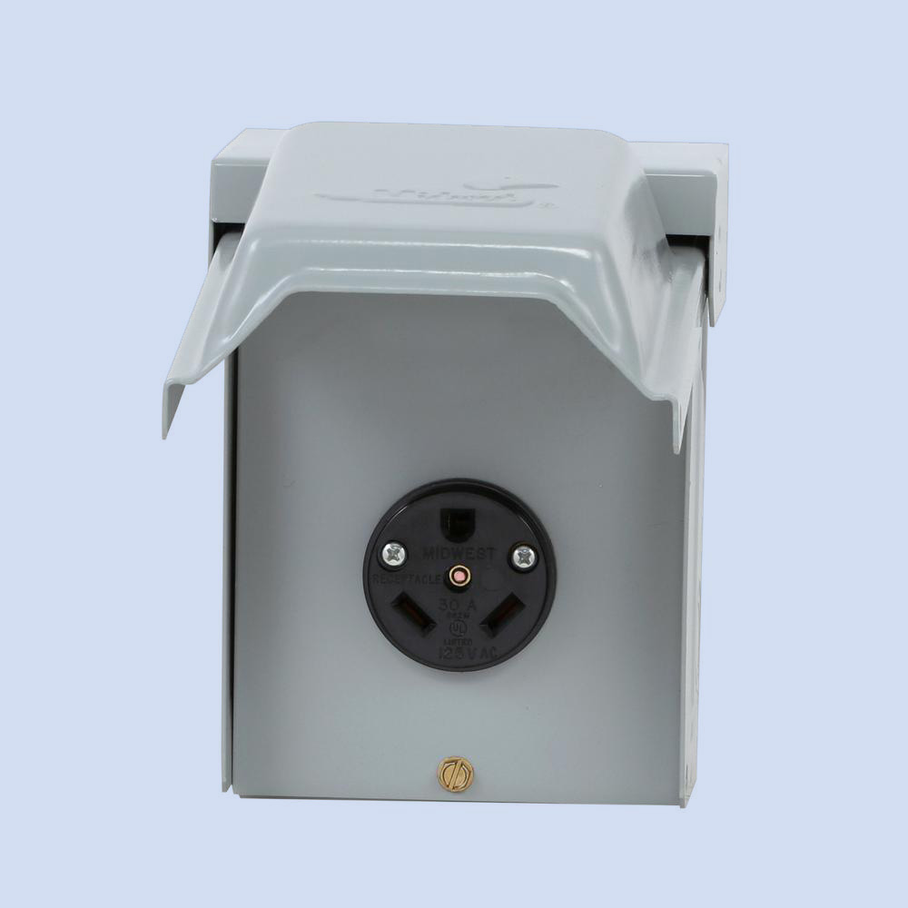 New Midwest Rainproof Power Outlet U054