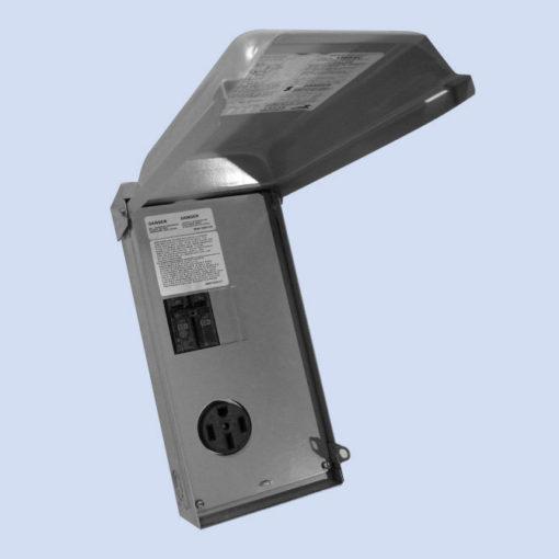 Image of U054C Midwest 50 amp RV hookup