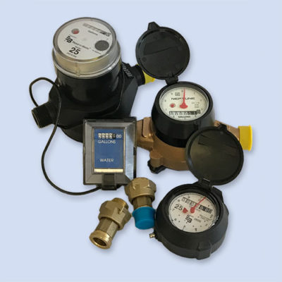 Badger, Neptune water meters new and refurbished
