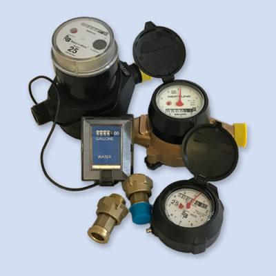 Badger, Neptune water meters new and refurbished
